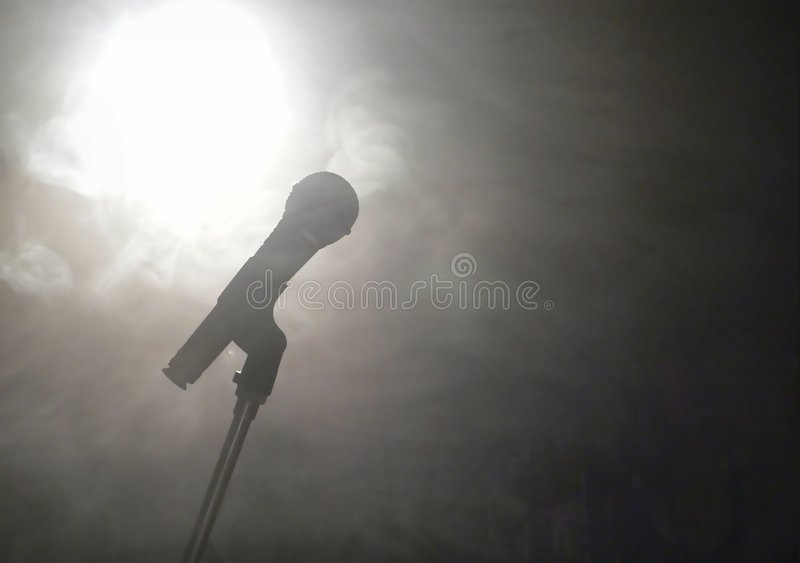radio mikrofonu obrazy stock