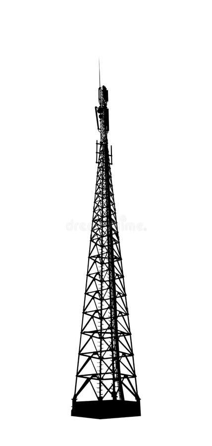 Free Radio Or Mobile Phone Base Station. Stock Photo - 44375120
