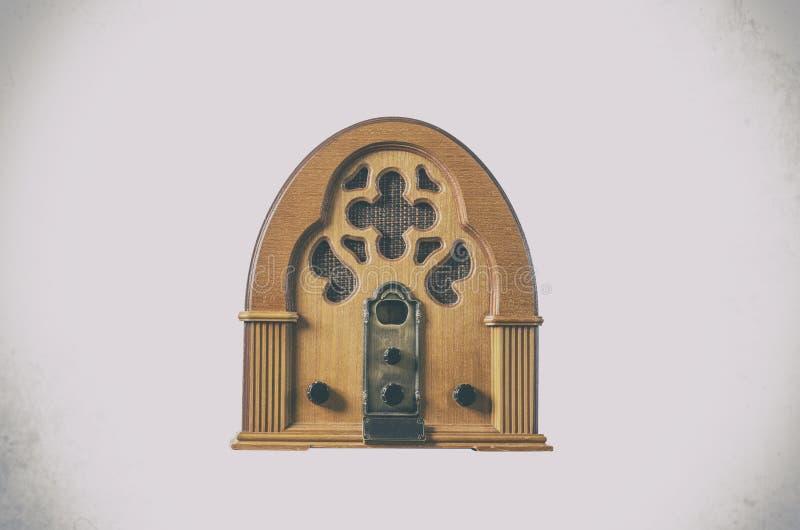 Radio oude spelerwijnoogst stock fotografie