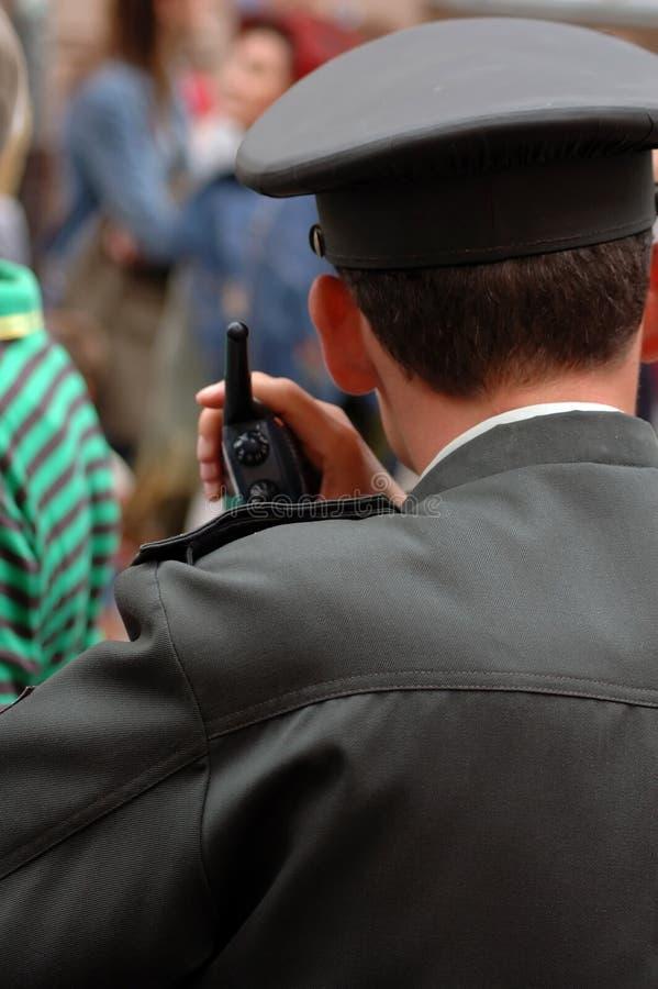 radio policjanta obrazy stock
