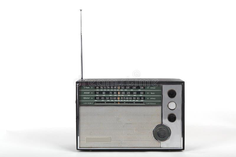 Radio portable vieja fotos de archivo