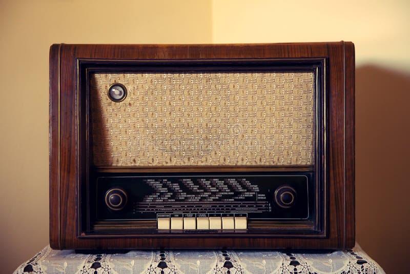 Radio rara vieja imagen de archivo