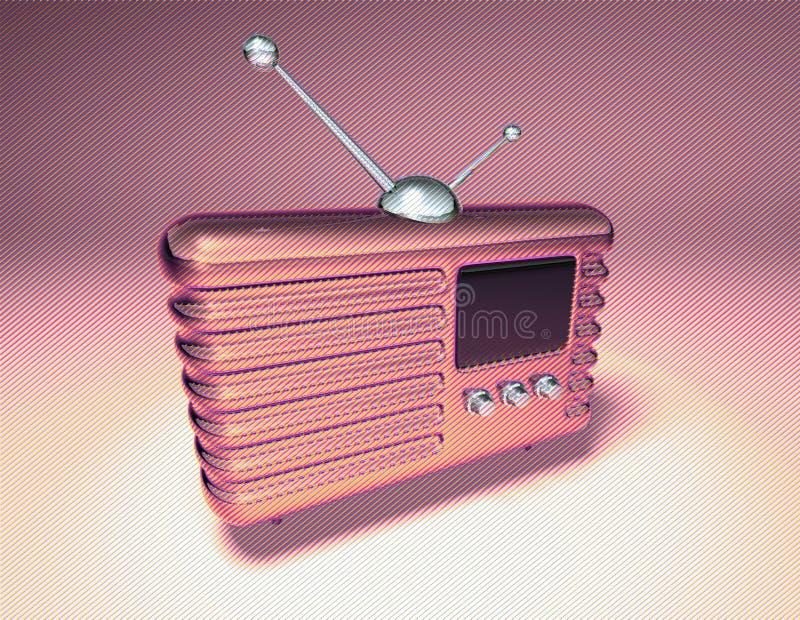 Radio retra libre illustration