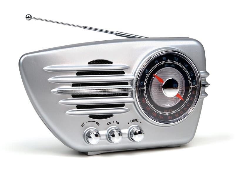 Radio retra fotos de archivo libres de regalías