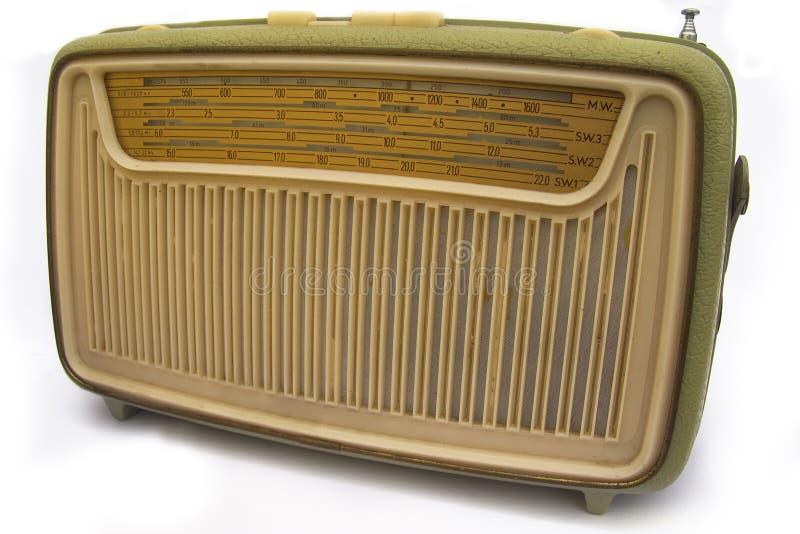Radio retra imágenes de archivo libres de regalías