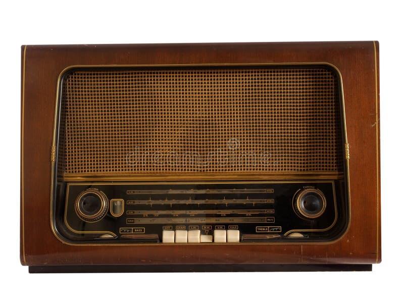 Radio retra vieja imagen de archivo libre de regalías