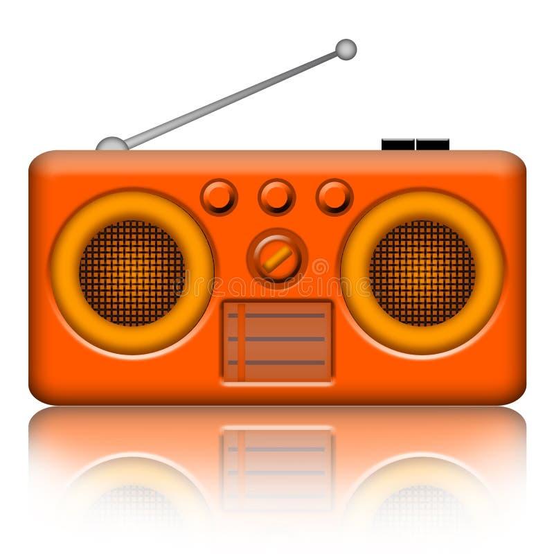 Download Radio retro stock illustration. Illustration of isolated - 21145551