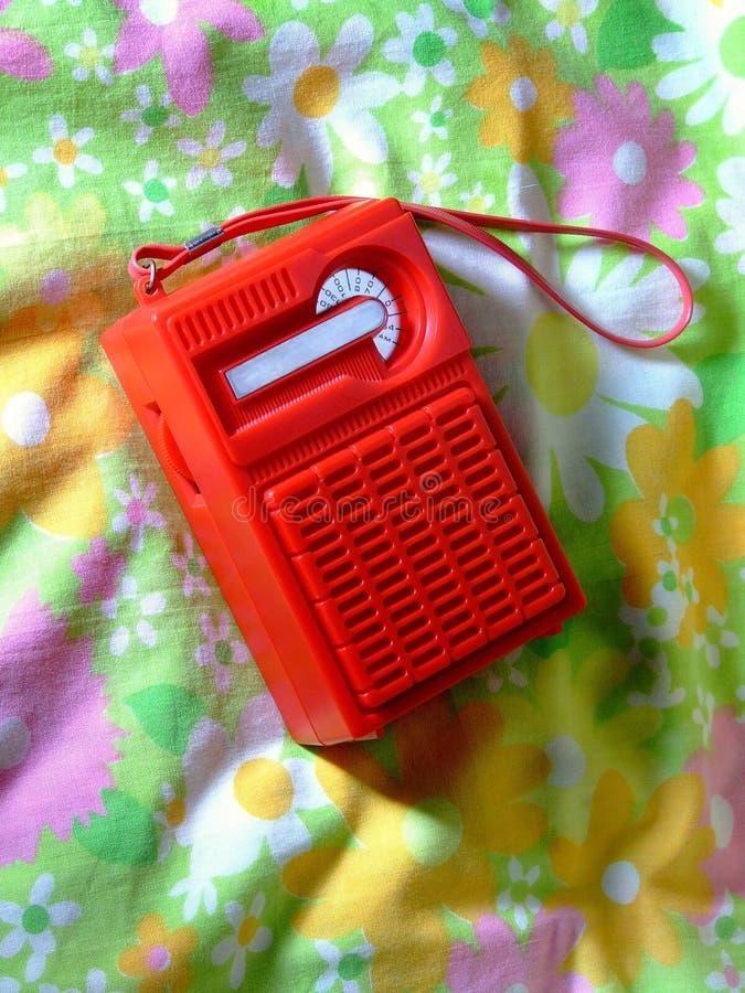 radio retro royaltyfri bild