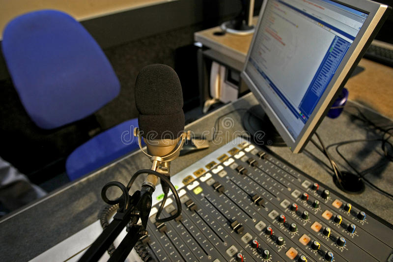 Download Radio station stock photo. Image of news, control, professional - 27630412