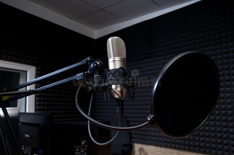 radio studio royalty-vrije stock afbeelding