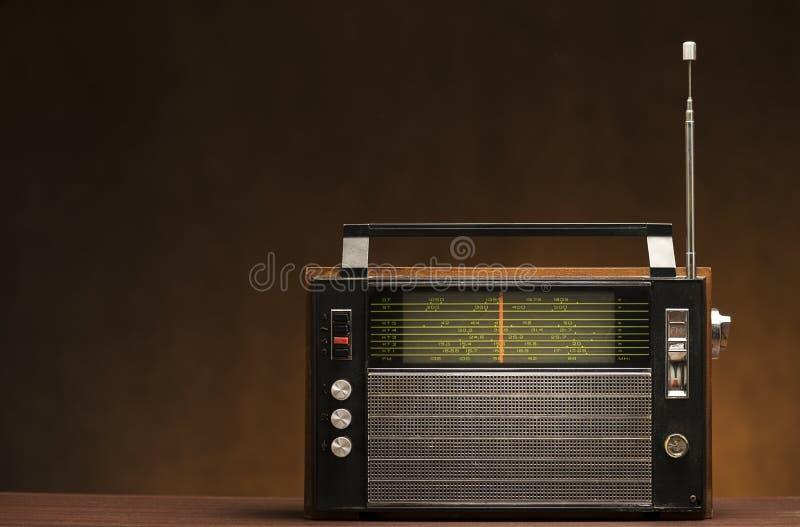 Radio sucia del vintage fotos de archivo libres de regalías