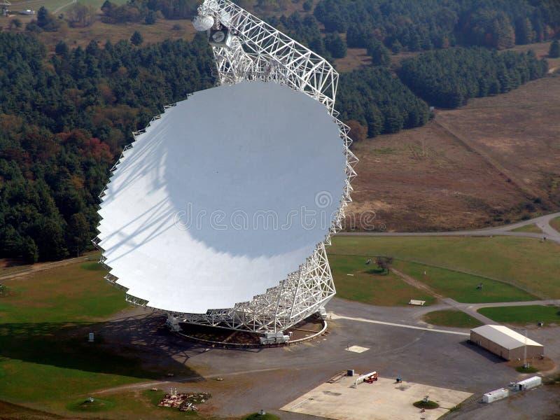 Radio Telescoop royalty-vrije stock afbeelding