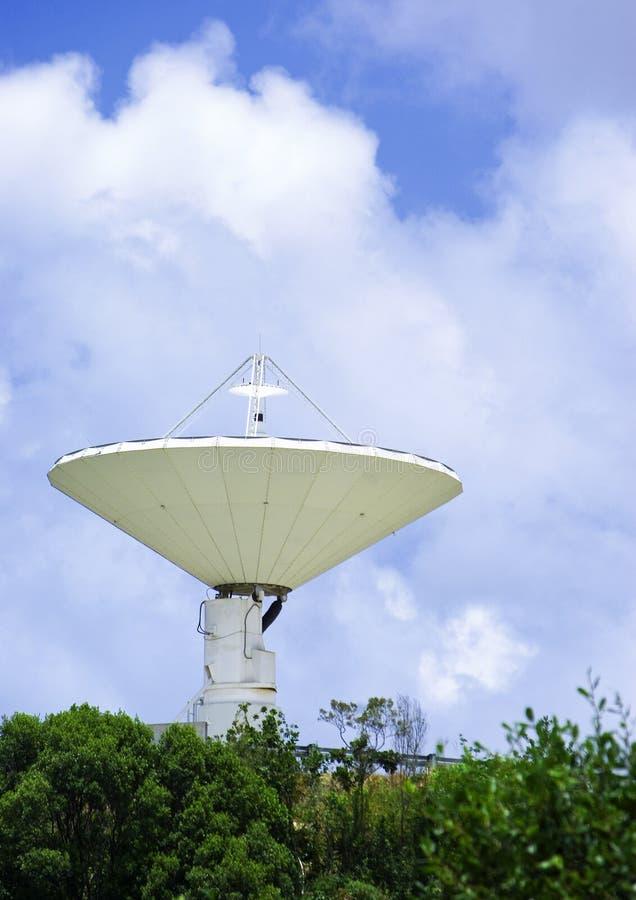 Radio telescoop stock afbeeldingen