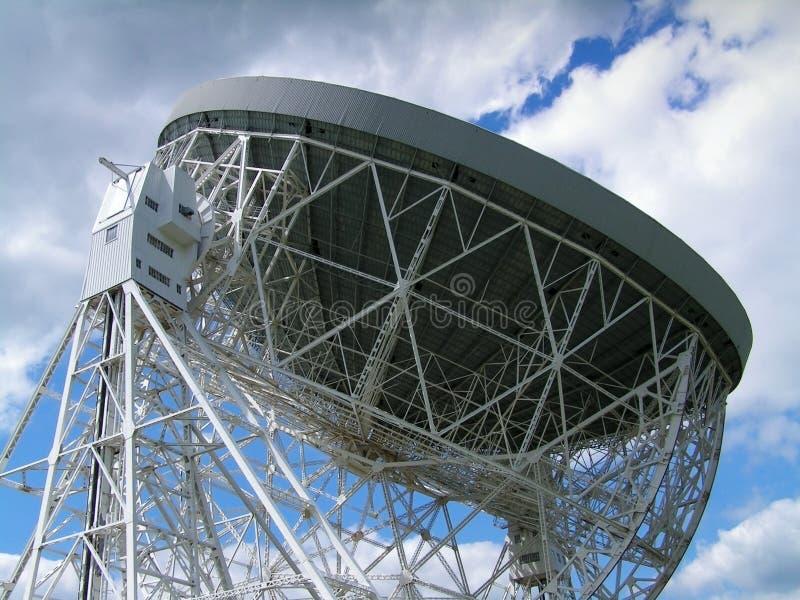Radio Telescope. The Lovell Radio Telescope at Jodrell Bank, Cheshire, UK stock images