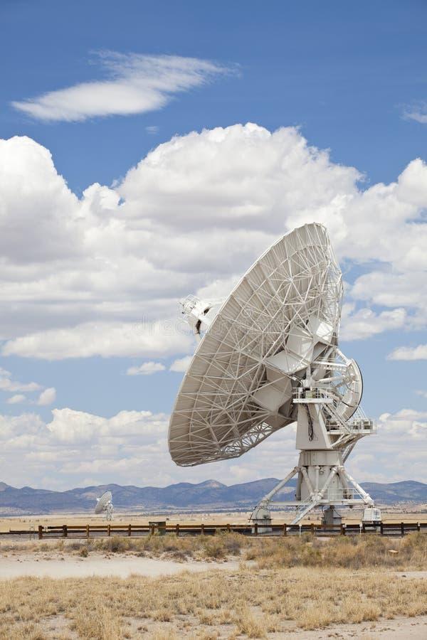 Radio Telescope. Very Large Array, New Mexico stock photo