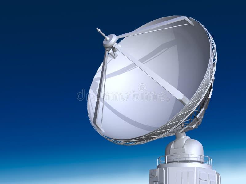 Download Radio telescope stock illustration. Image of astronomy - 27761524