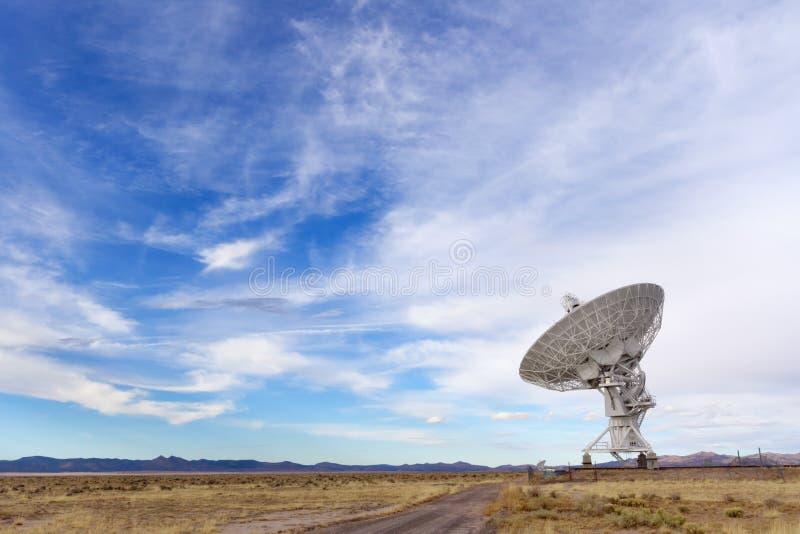 Radio Telescope. VLA Radio Telescope near Socorro, NM stock image