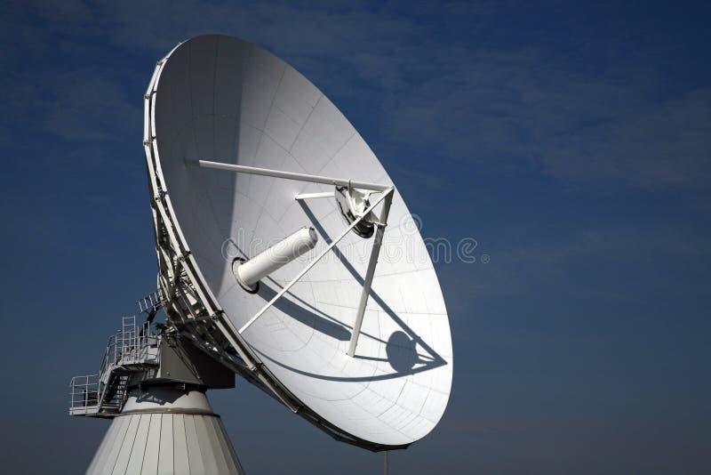 Radio Telescope. A radio telescope and blue sky, Germany stock image