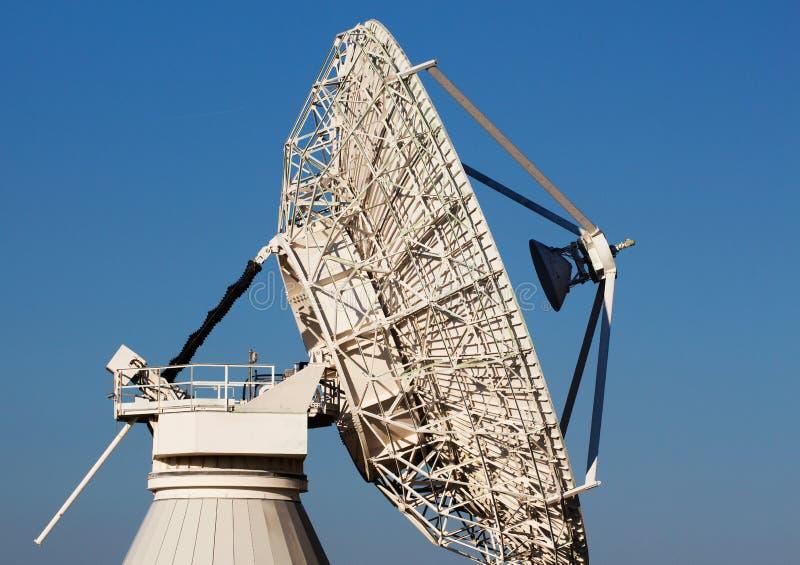 Radio Telescope Against The Blue Sky Stock Image