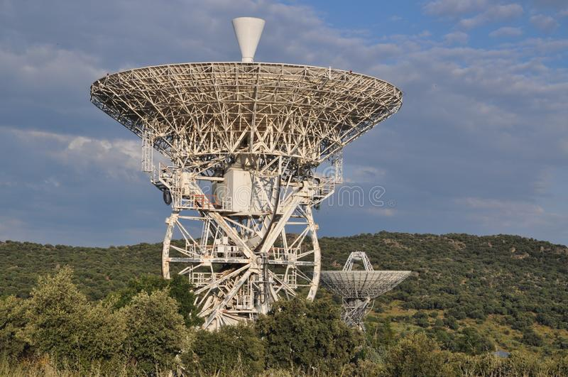 Radio Telescope, Technology, Sky, Observation Tower royalty free stock photography