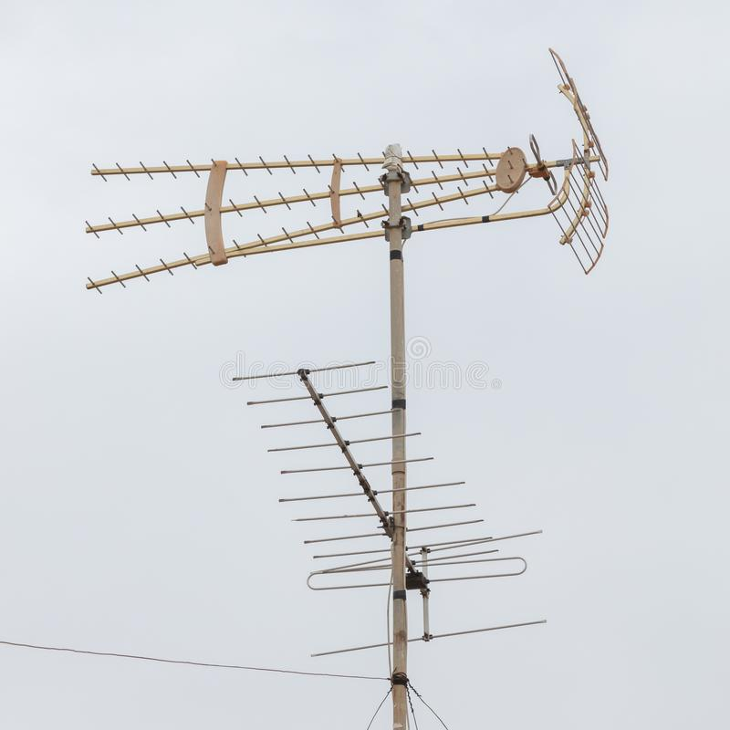Radio/Televisieantenne royalty-vrije stock fotografie