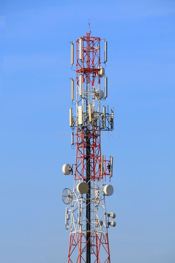Radio toren royalty-vrije stock foto
