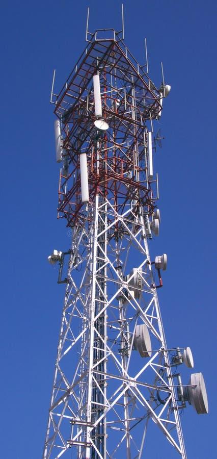 RADIO TOWER royalty free stock photography