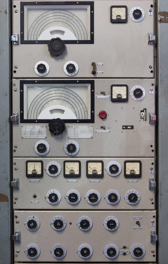 Radio Transmitter. Out of date radio transmitter stock image
