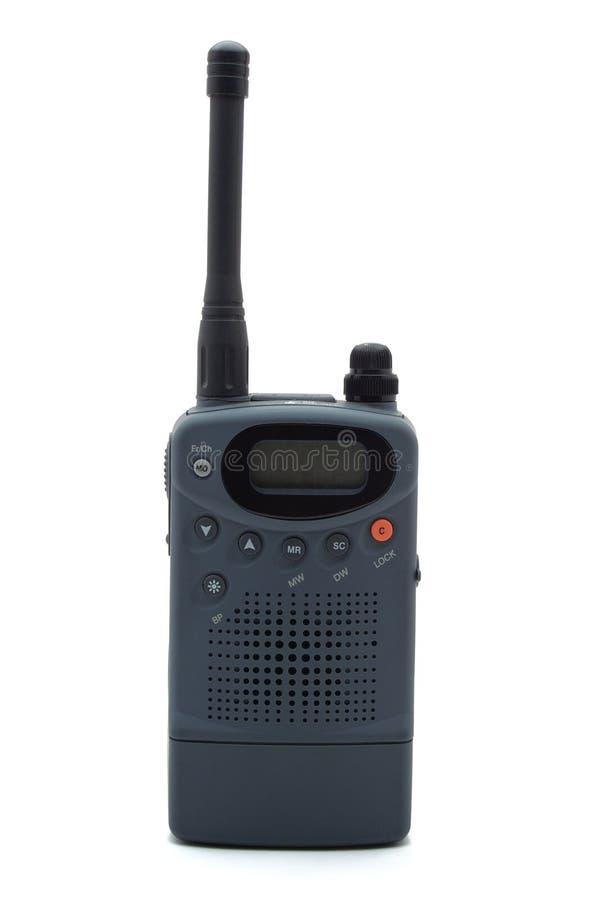 Radio transmitter/receiver. On white background stock image