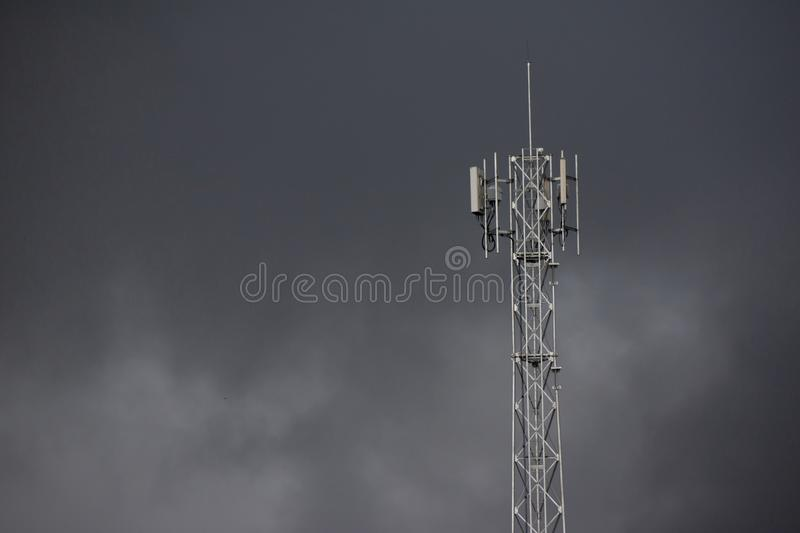 Signal Tower transmitter. stock photography
