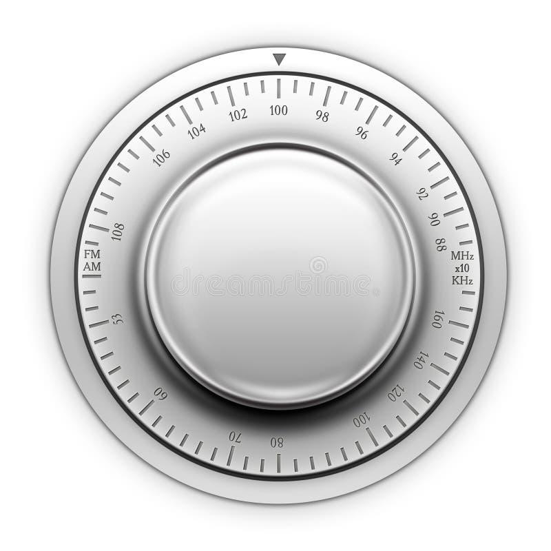 Radio Tuner vector illustratie