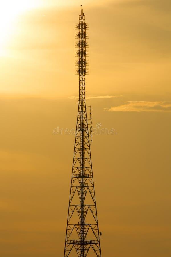 Radio and TV Broadcasting royalty free stock photos