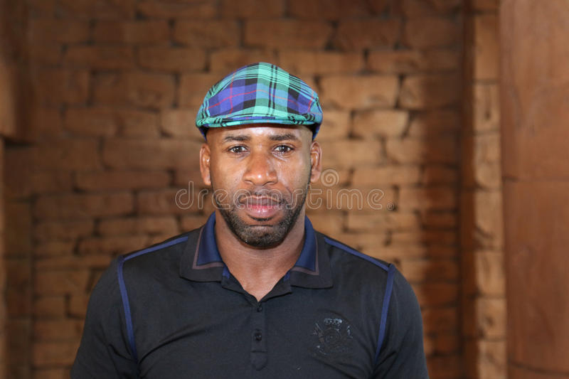 Radio and TV personality Johnathan Joseph, DJ Spoony November 2015 in South Africa royalty free stock photos