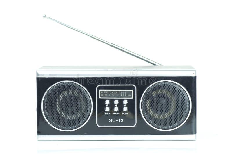 Radio und usb-Spieler stockfotografie