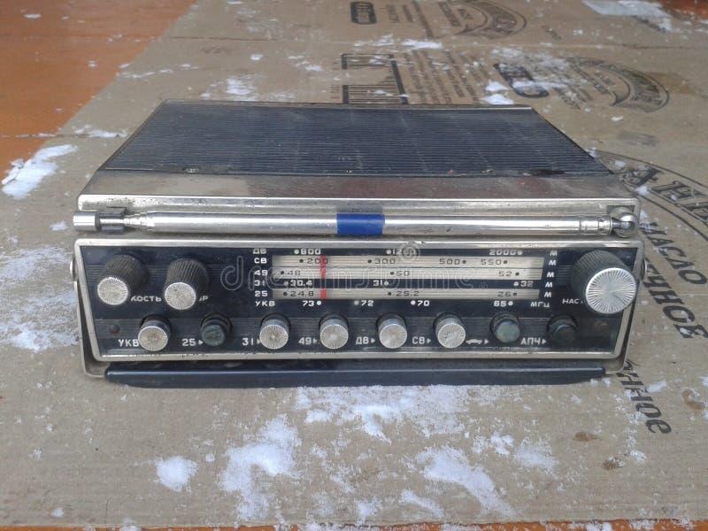 Radio 2, URSS automatique d'Ural de radio classique image stock
