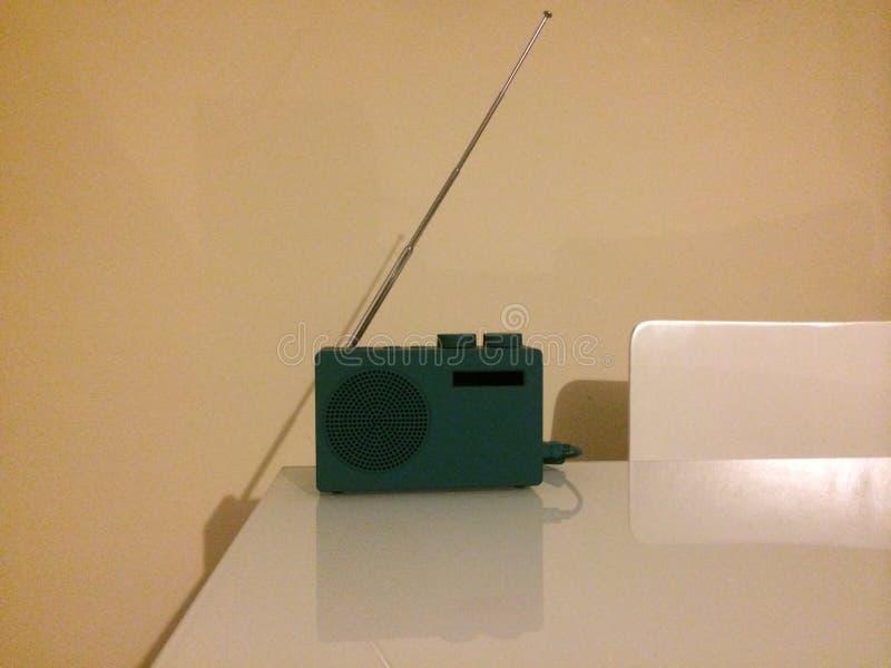 Radio verde fotografia stock