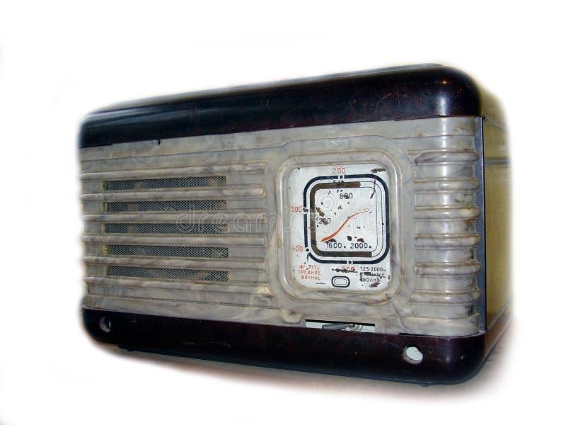 Radio vieja foto de archivo