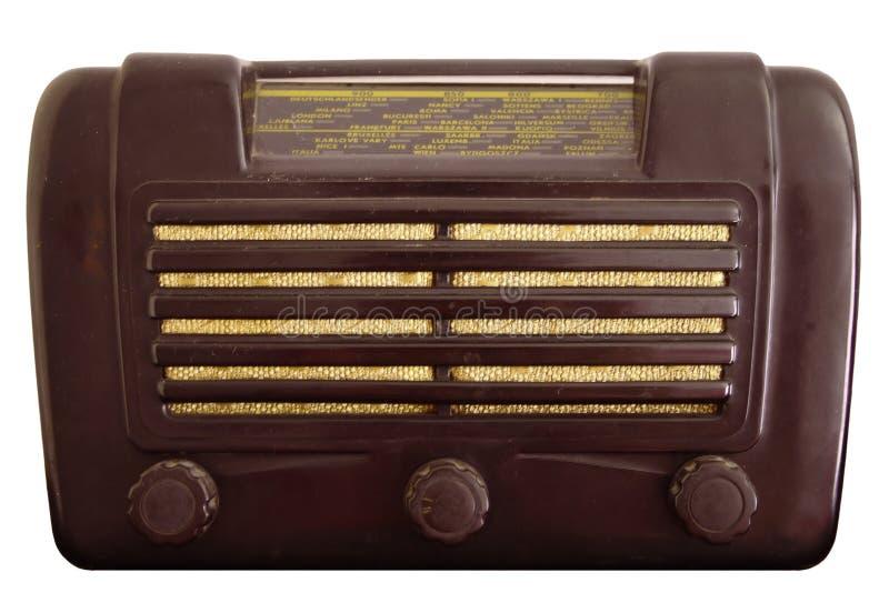 Radio vieja de la vendimia imagenes de archivo