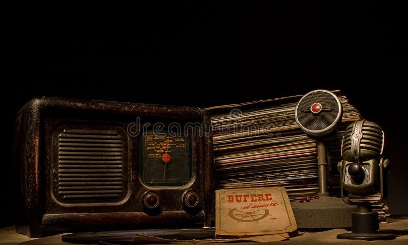 The radio royalty free stock photos