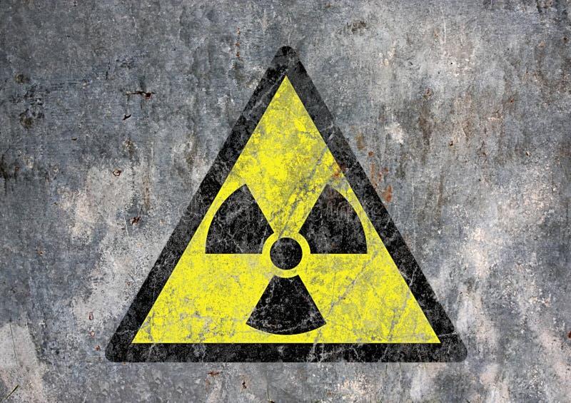 Radioactief stock afbeelding