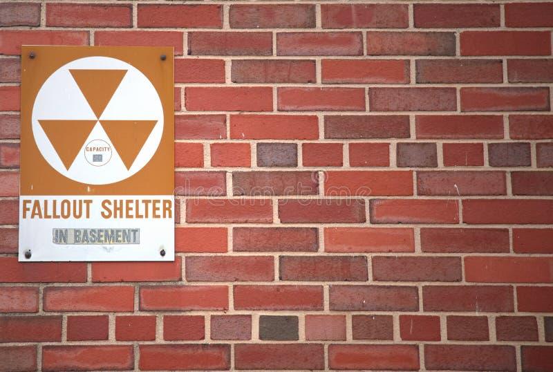 Radioactieve neerslag stock foto's