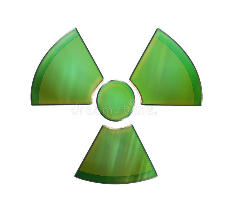 Radioactif illustration stock