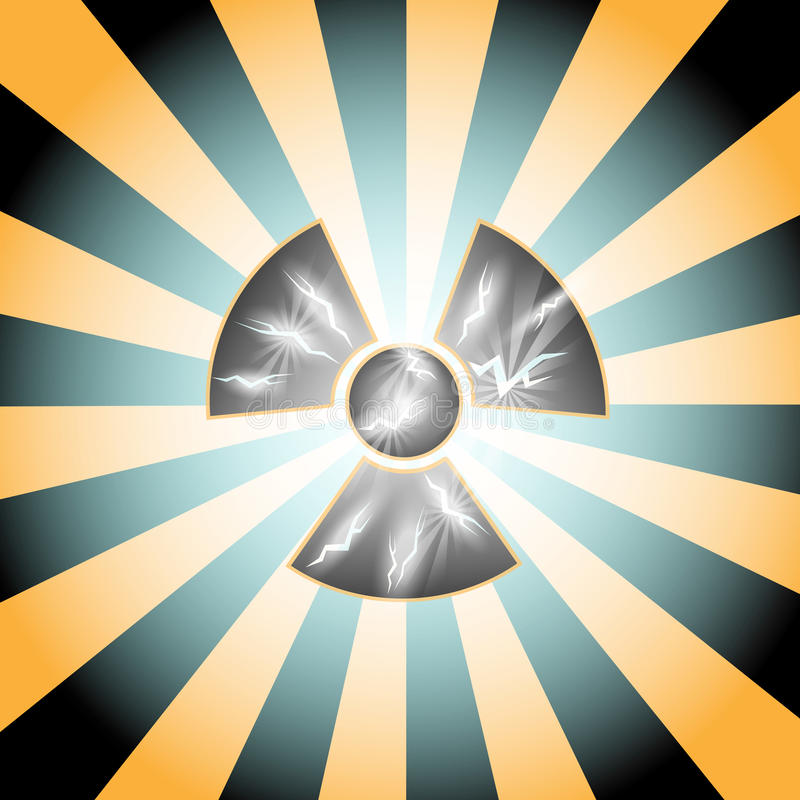 Download Radioactive stock vector. Illustration of alarm, deadly - 12064846
