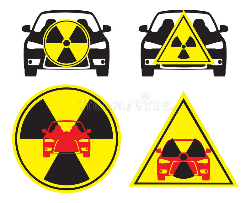 Download Radioactive car stock vector. Image of radiation, cesium - 19542626