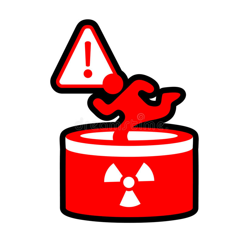 Download Radioactive danger stock vector. Image of grunge, hazard - 20910220