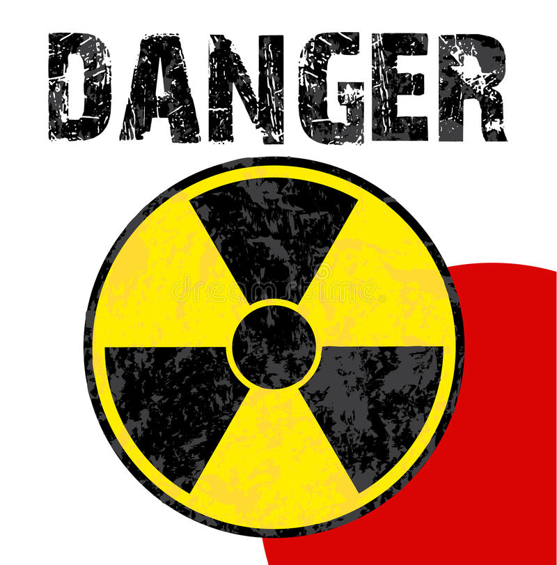 Download Radioactive danger japan stock vector. Image of hazard - 18825653