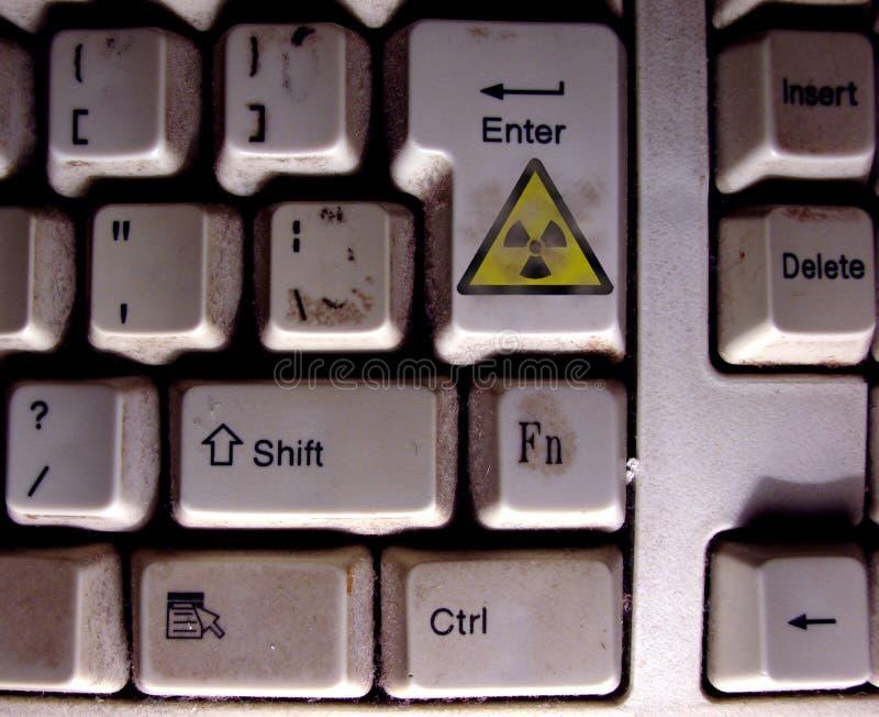 Download Radioactive keyboard stock photo. Image of radioactive - 5662904
