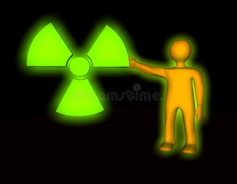 Radioactive Pollution Stock Image