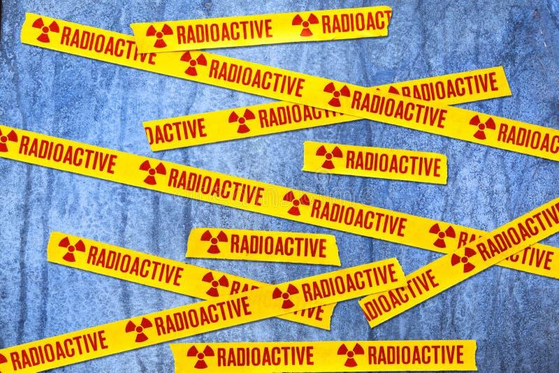 Radioactive Radiation Background royalty free stock image