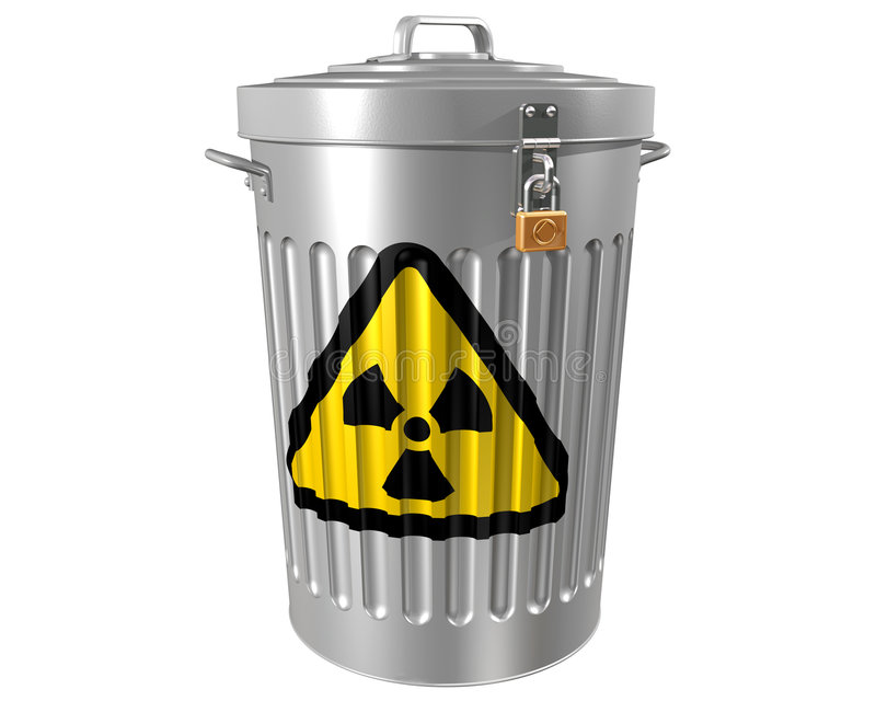 Download Radioactive Waste stock illustration. Image of dangerous - 5787728